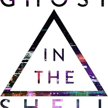 Ghost In The Shell Logo by shu321