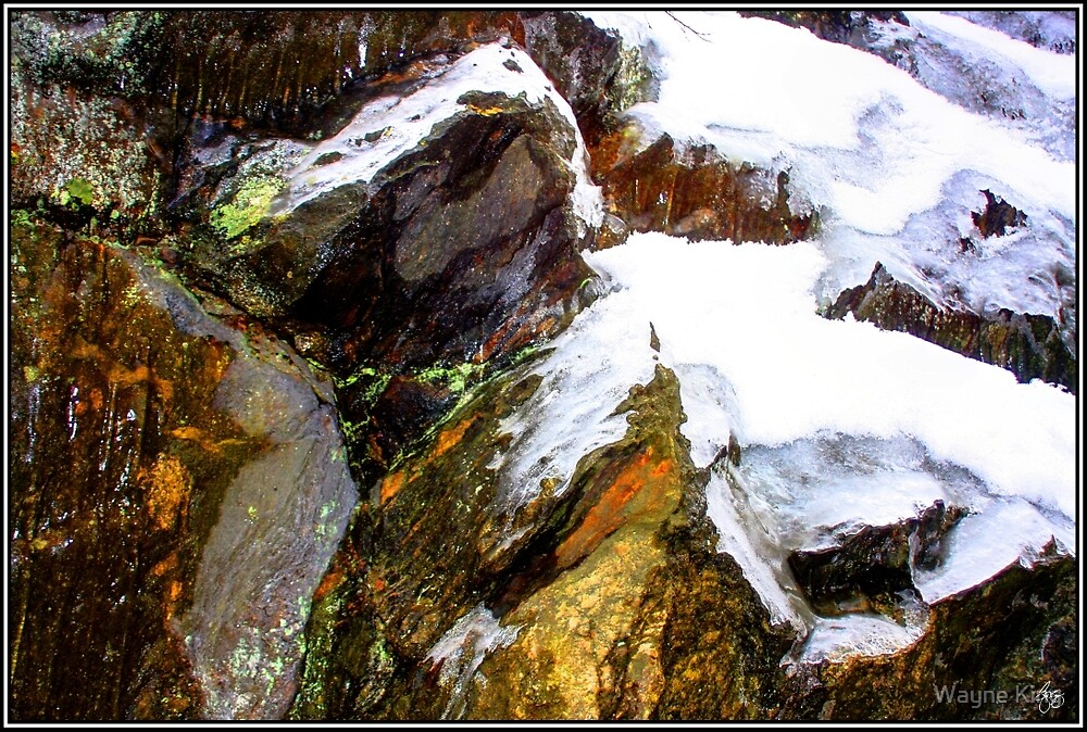 Ice, Snow and Stone by Wayne King