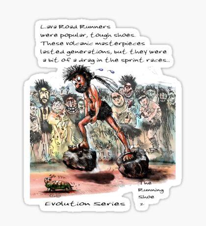 Evolution Series: The Running Shoe 2 Sticker