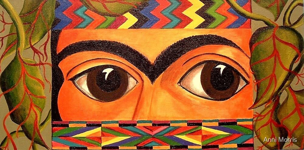 Through Frida's Eyes by Anni Morris