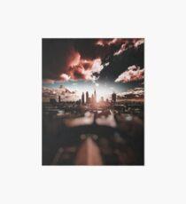 london skyline Art Board