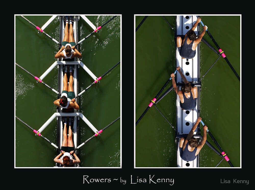 Rowers by Lisa Kenny