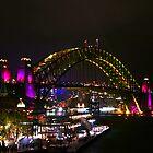 Rainbow bridge by Sara Lamond