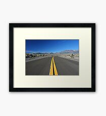 Scenic Road Framed Print