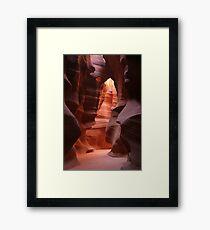 Antelope Canyon Framed Print