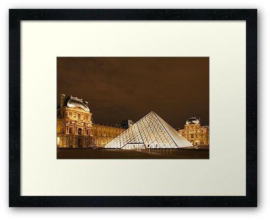 Louvre Pyramid by Christophe Testi