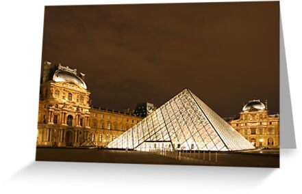 Louvre Pyramid by Christophe Testi