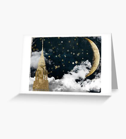 Cloud Cities New York City Greeting Card