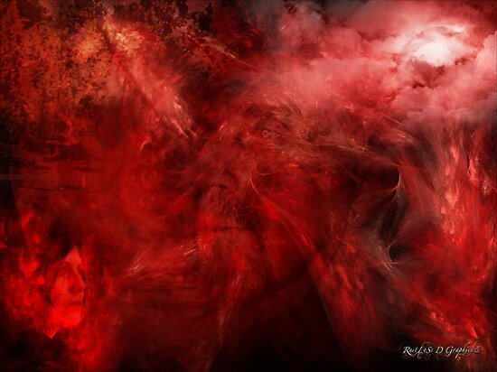 Blood of Me (an image, a poem, a song) by Rhonda Strickland