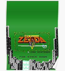 Zelda Fan Since Ever Poster