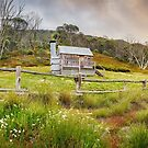 Silver Brumby Hut, Mt Hotham, Victoria, Australia by Michael Boniwell