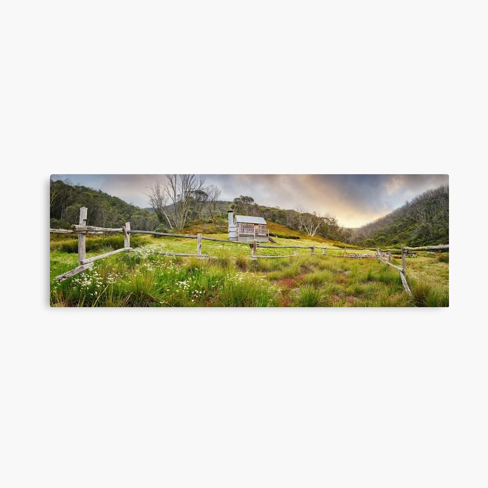 Silver Brumby Hut, Mt Hotham, Victoria, Australia Canvas Print