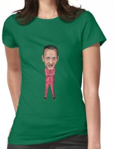 John Waters Inspired Illustration Pope of Trash Womens Fitted T-Shirt