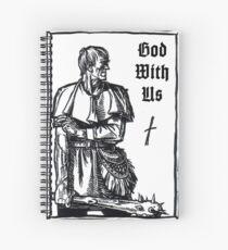God With Us - Nobiscum Deus Spiral Notebook