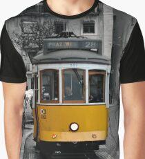 Tram 28 Lisbon Portugal Graphic T-Shirt