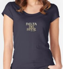 Delta Spur Sheriff Star Women's Fitted Scoop T-Shirt