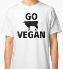 Go vegan Classic T-Shirt