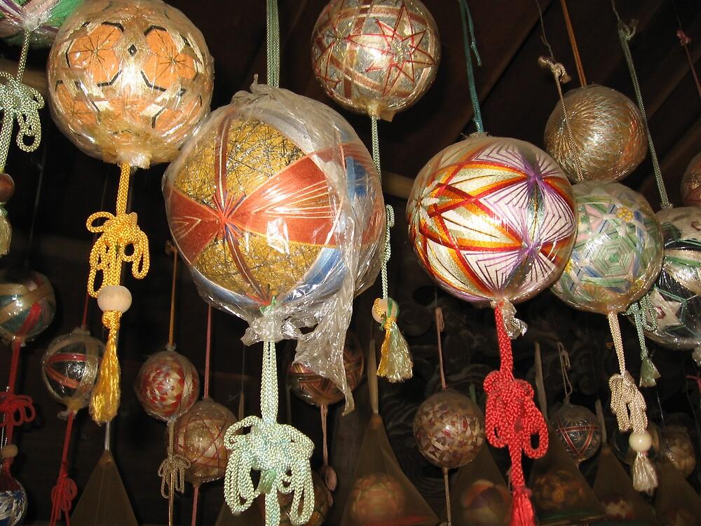 Temari Balls 6 - Ishiteji temple Matsuyama Ehime  by Trishy