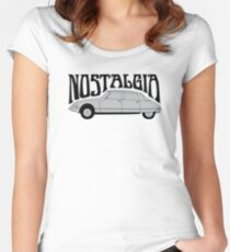 Nostalgia - Citroën DS Women's Fitted Scoop T-Shirt