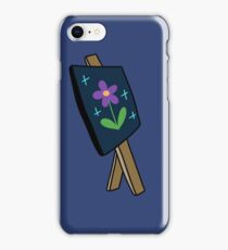 Easel with Painting iPhone Case/Skin