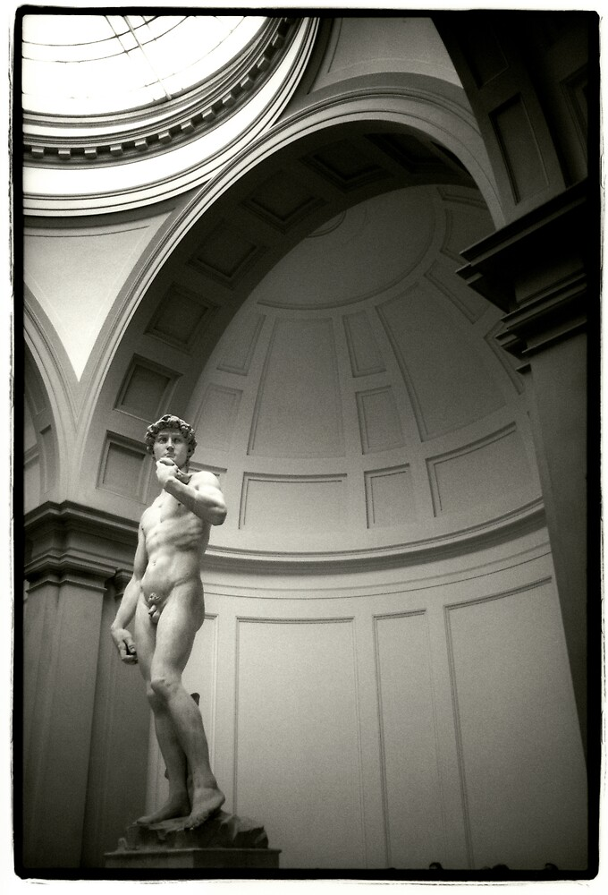 Michaelangelo's David by laurencedodd