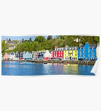 Colours of Tobermory Poster