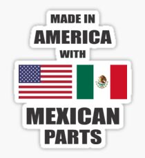 T shirt Mexican Sticker
