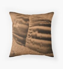 Striped Shell Throw Pillow