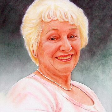 Oil painting of Lillian by briantowers