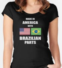 T shirt Brazilian Parts 2 Women's Fitted Scoop T-Shirt