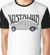 Nostagia - VW Beetle Graphic T-Shirt