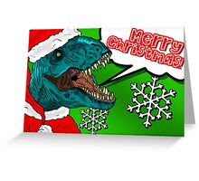Santa Roars! Greeting Card