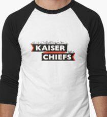 Kaiser Chiefs Decorated Banner  Men's Baseball ¾ T-Shirt