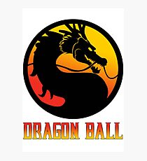 Dragon Ball Mortal Kombat Photographic Print