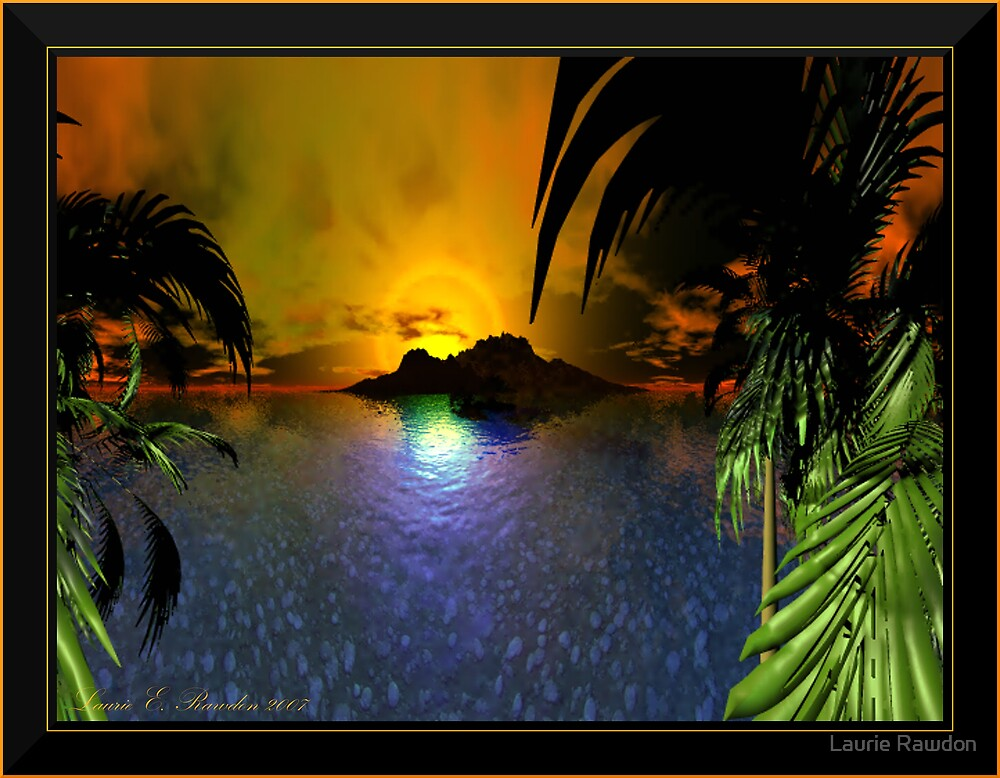 Glimpse of Paradise by Laurie Rawdon