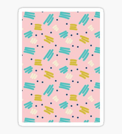 Pattern Party Sticker