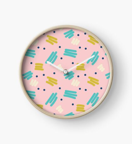 Pattern Party Clock