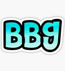 BBG Sticker