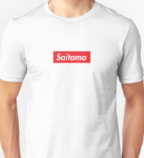 Saitama One Punch Man HD Logo Supreme  T-Shirt