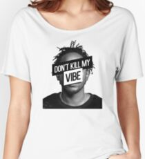 Kendrick Lamar- Don't Kill My Vibe Women's Relaxed Fit T-Shirt