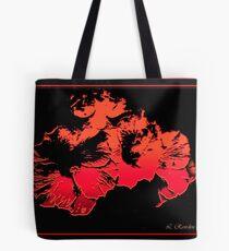 Wild Hibiscus Tote Bag