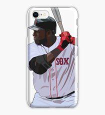 David Ortiz Red Sox iPhone Case/Skin