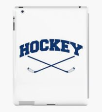 Hockey 2 Sticks Crossed iPad Case/Skin