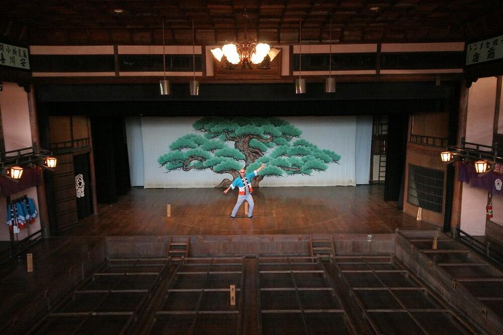 Uchiko Kabuki Theatre - Cultural attache encore performance by Trishy