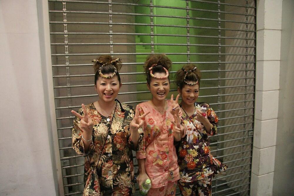 Matsuyama Local Festival - Matsuyama lady warriors by Trishy