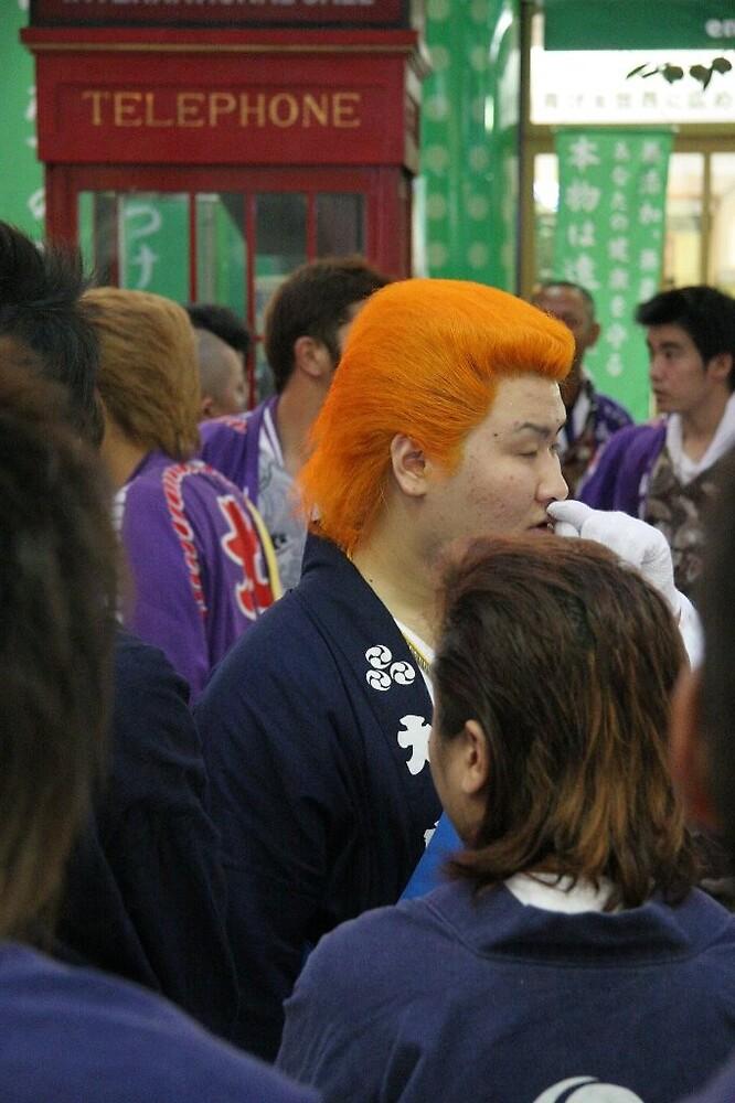 Matsuyama Local Festival - Matsuyama warriors by Trishy