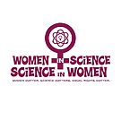 Women in Science. Science in Women Symbol  by jitterfly
