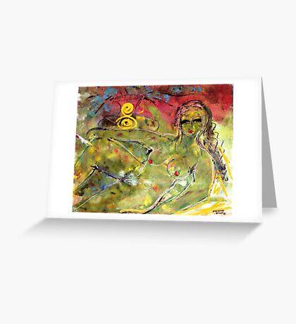 """""""Nude"""" Greeting Card"""