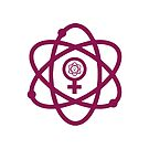 Women in Science. Science in Women Symbol Pink by jitterfly