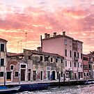 Venice sunset by LadyFi